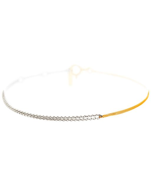 Dutch Basics | Metallic Interlinked Chain Bracelet Gold | Lyst