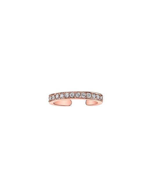 Anita Ko | Pink Rose Gold Ear Cuff With Diamonds | Lyst