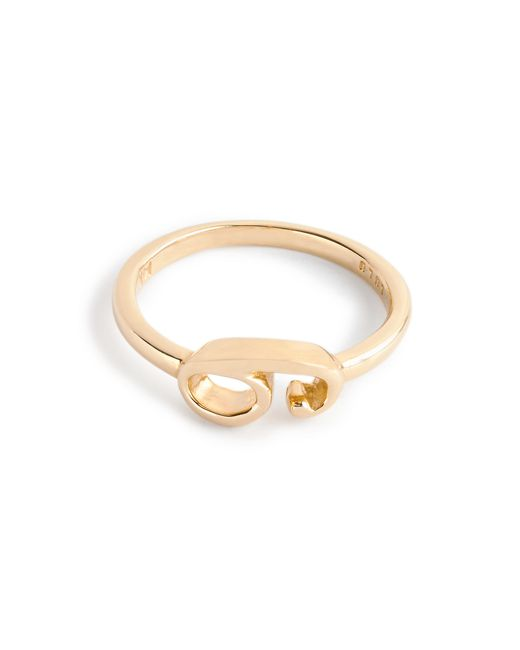 J.Crew | Metallic Lulu Frost 14k Gold Code Ring | Lyst