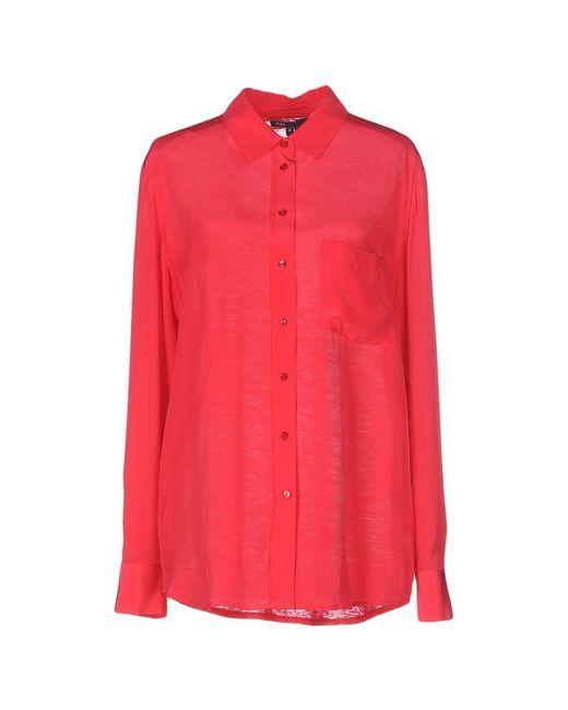 VINCE   Purple Shirt   Lyst