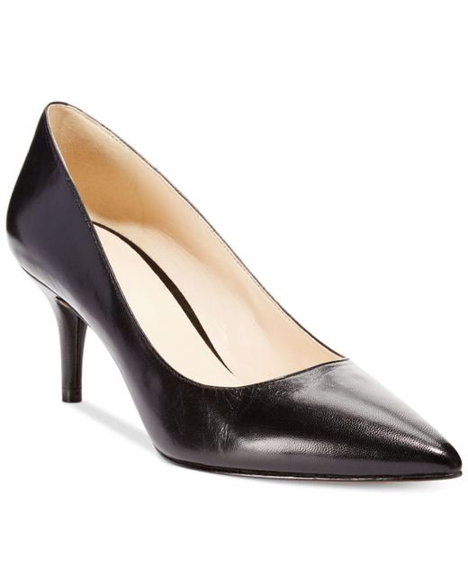 Nine West | Black Margot Mid-heel Pumps | Lyst