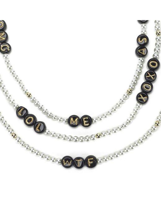 Venessa Arizaga | Black Women's Say What? Necklace | Lyst