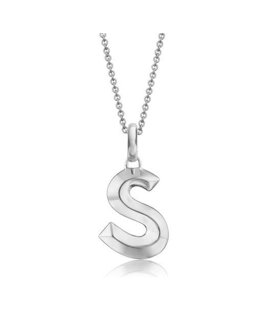 Monica Vinader | Metallic Alphabet Pendant S | Lyst