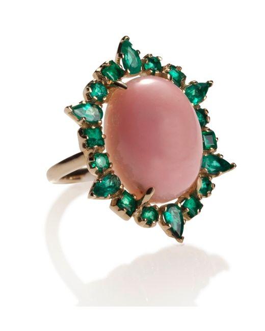 Emily & Ashley | Pink Opal Ring | Lyst
