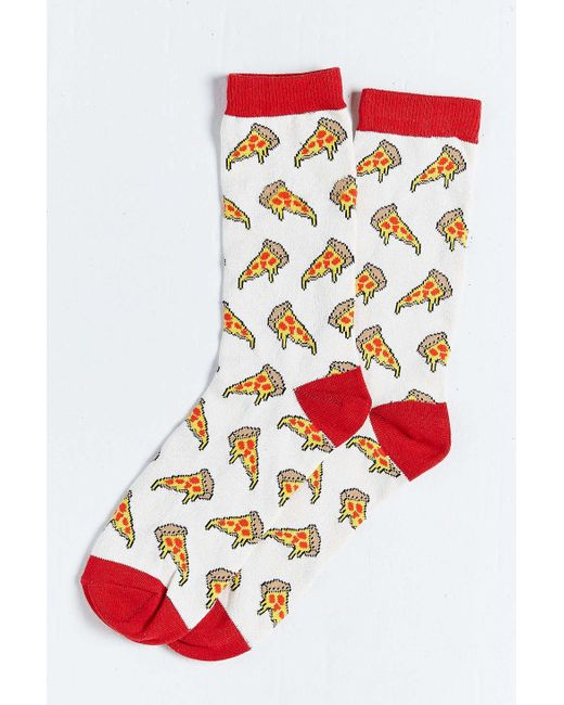 Urban Outfitters | Gray Pizza Sock | Lyst