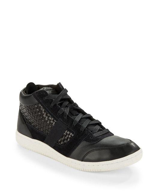 DIESEL | Black Amnesia Resolution Sneakers for Men | Lyst