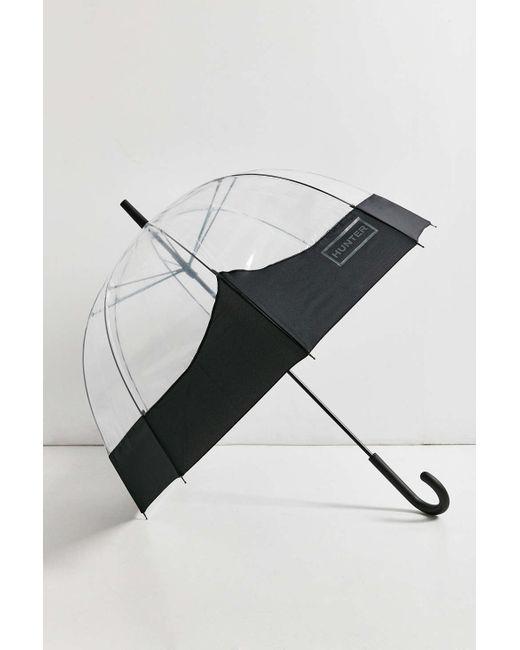 Hunter   Black Original Bubble Umbrella   Lyst