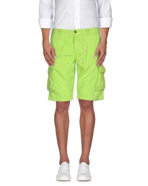 40weft | Green Bermuda for Men | Lyst
