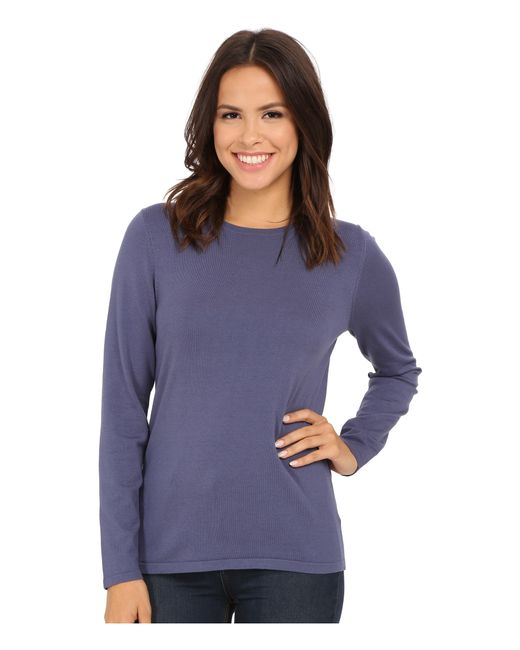 Pendleton | Blue Jewel Neck Pullover | Lyst