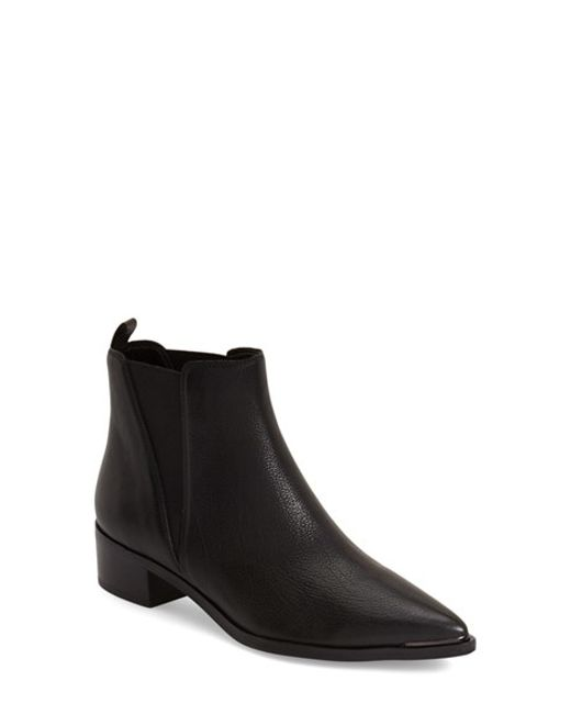 Marc Fisher | Natural Yale Suede Chelsea Boots | Lyst