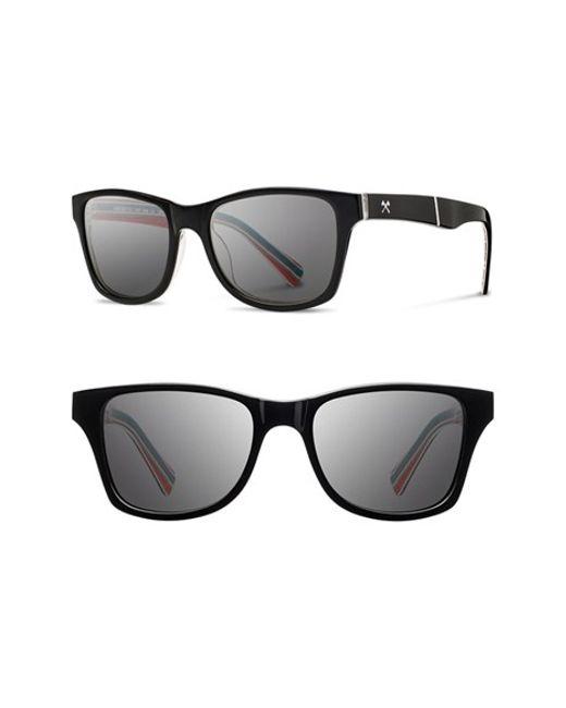 Shwood | Black 'canby - Pendleton' 54mm Polarized Sunglasses | Lyst