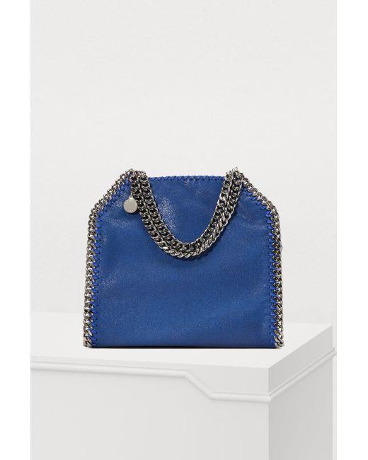 ab05f5c562 Stella McCartney - Blue Falabella Mini Tote - Lyst ...