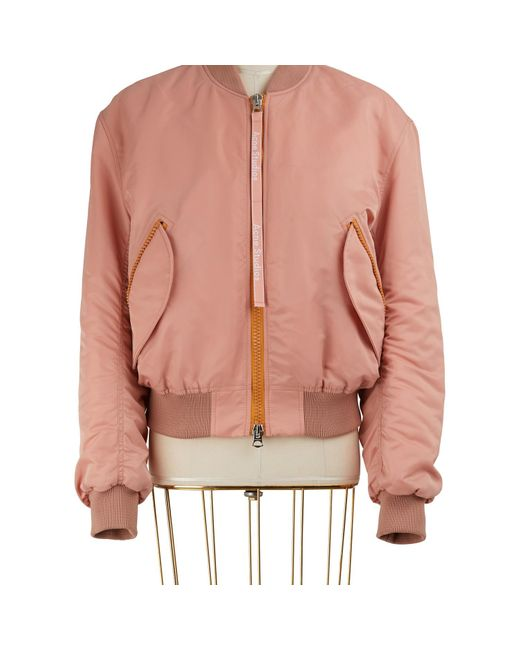 Acne Pink Clea Bomber