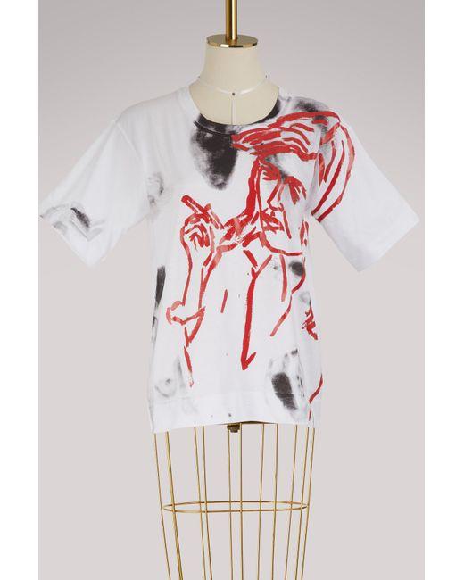 Marni - Multicolor T-shirt - Lyst