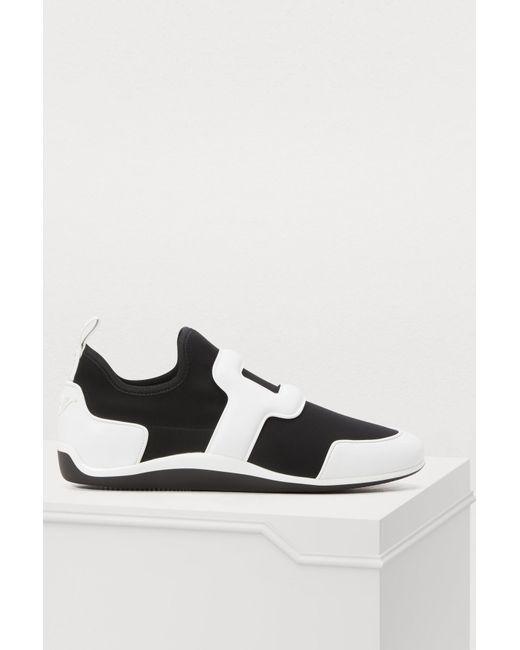 Roger Vivier - Black Sporty Viv Sneakers - Lyst