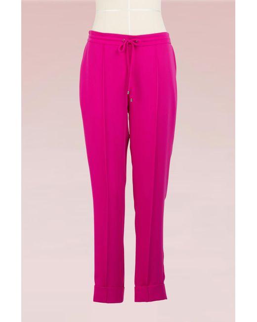 138ab1e8ac1a KENZO - Pink Jogpant - Lyst ...