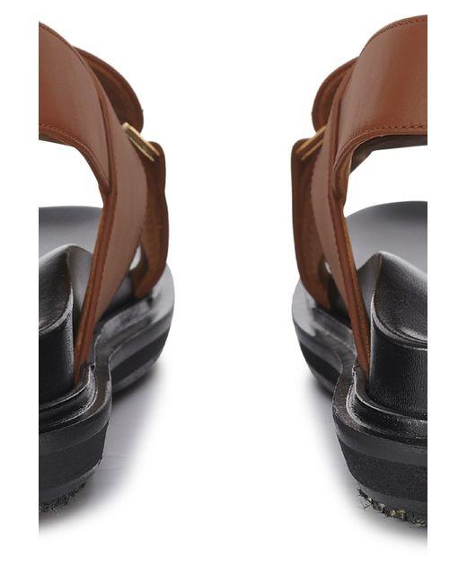 Marni Brown Fussbett Shoes