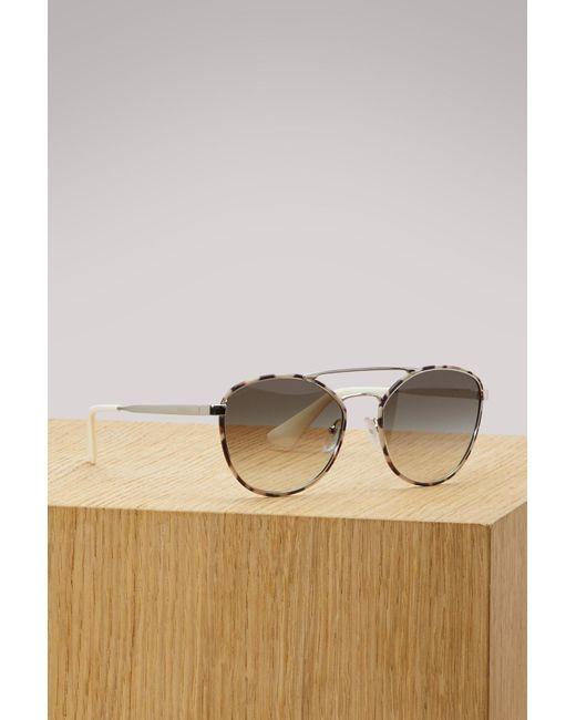 Prada - Multicolor Cinema Evolution Sunglasses - Lyst