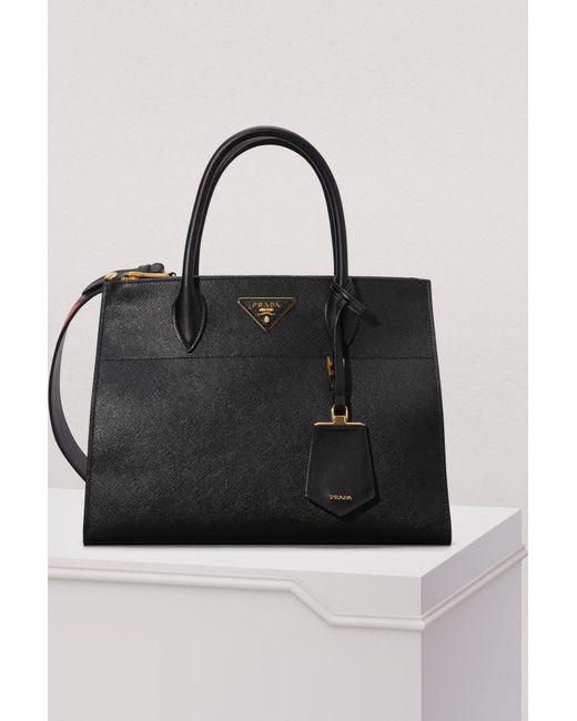 069b06026d26 Prada - Black Paradigme Big Cross-body Bag - Lyst ...