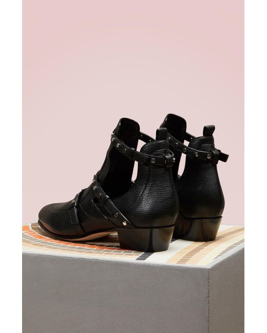 Cheap Manchester Great Sale Visit Online Jimmy choo Harley 30 textured leather ankle boots fhOhS