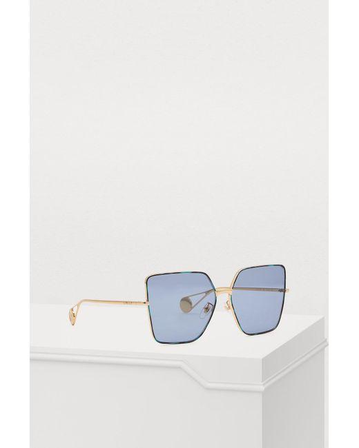 Gucci Blue Fs Evolution Sunglasses