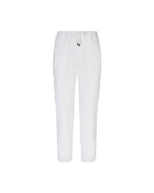 Fendi White Chenille Trousers for men