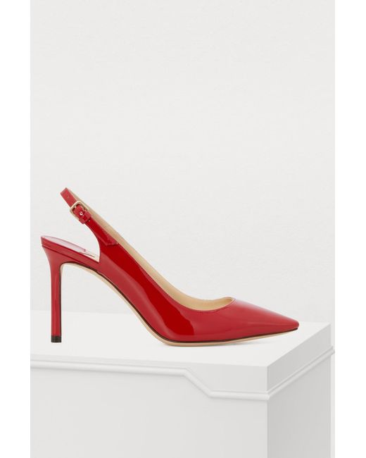 4e24ae9ca0e Women's Red Erin 85 Sling Back Pumps