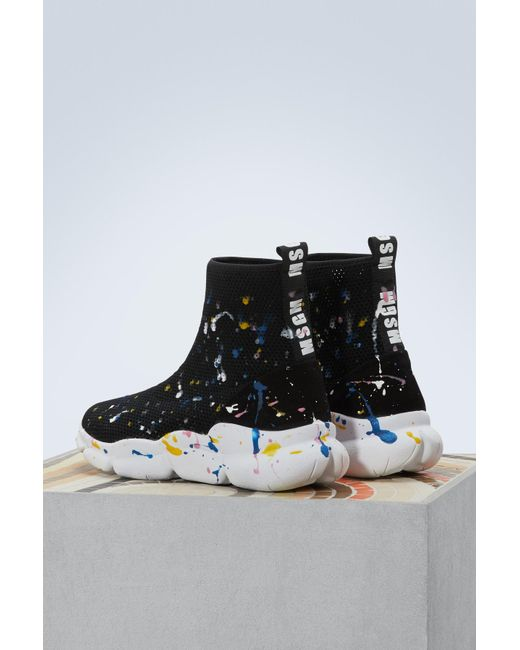 Msgm Drip sock sneakers yffTF