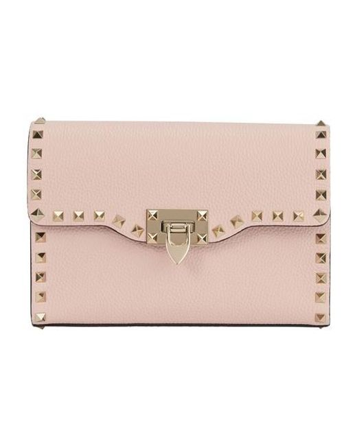 Valentino Garavani Pink Garavani - Small Rockstud Bag
