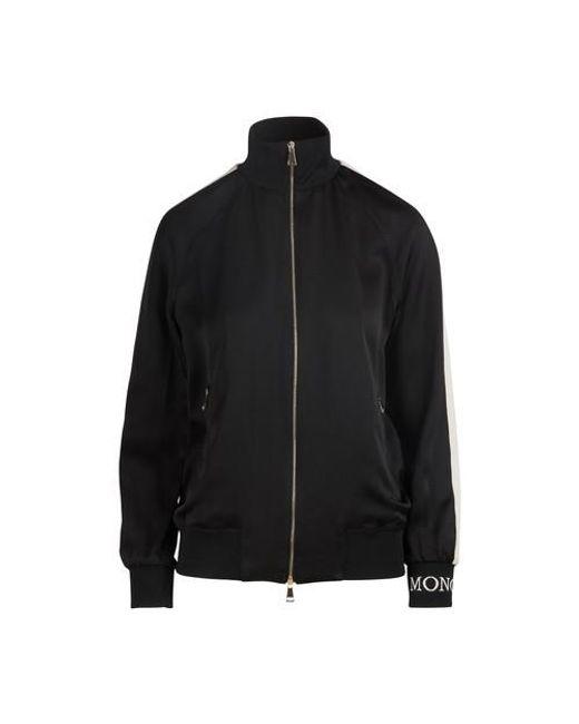Sweatshirt zippé Moncler en coloris Black