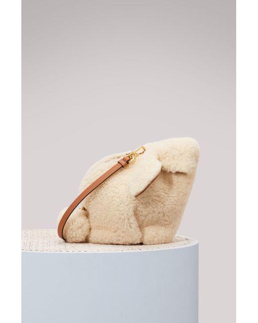 Loewe Mini sac à main Bunny YnhCrtEY4