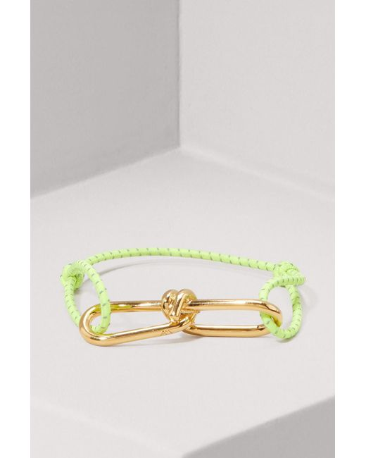 Annelise Michelson - Yellow Wire Cord Bracelet - Lyst