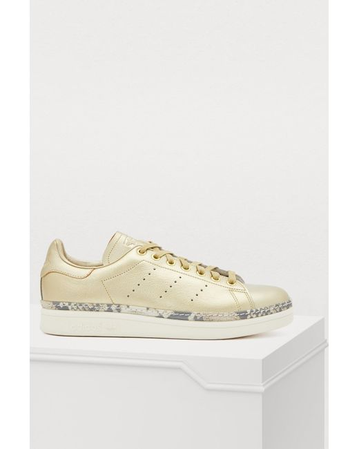 free shipping 50fed 7b332 Women's Metallic Stan Smith New Bold Sneakers