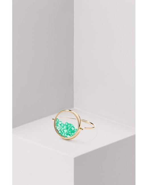 Aurelie Bidermann - Multicolor Emeralds Chivor Ring - Lyst