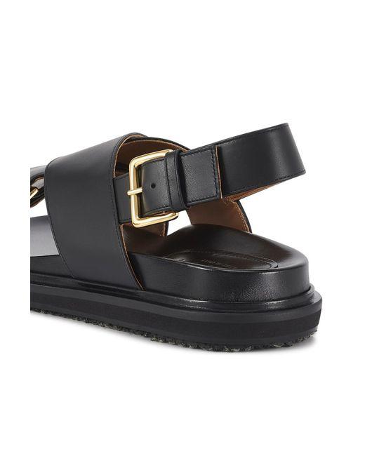 Marni Black Fussbett Shoes