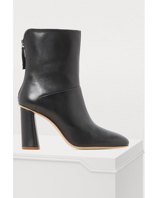 fca3960059032 Acne Studios High-heeled Ankle Boots in Black - Lyst