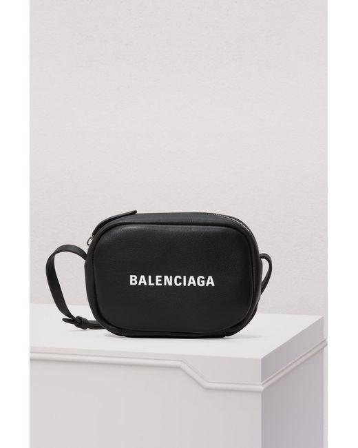 Balenciaga - Black Everyday Camera Shoulder Bag - Lyst