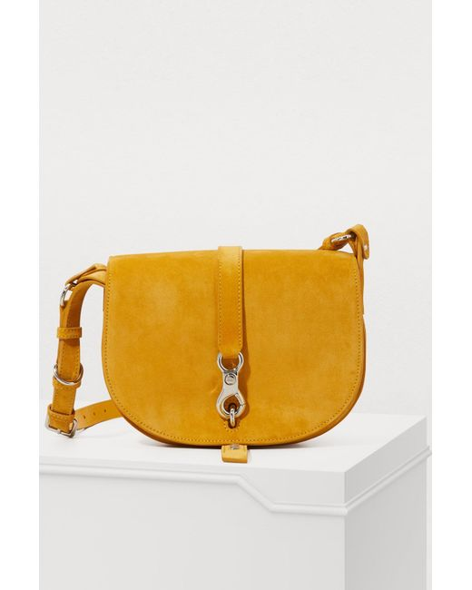 Miu Miu - Yellow Leather Shoulder Bag - Lyst ... ae119501444d3
