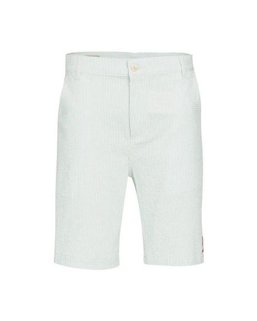 Maison Kitsuné Green Bermuda Shorts for men