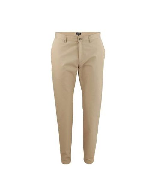 A.P.C. Natural Classic Chinos for men