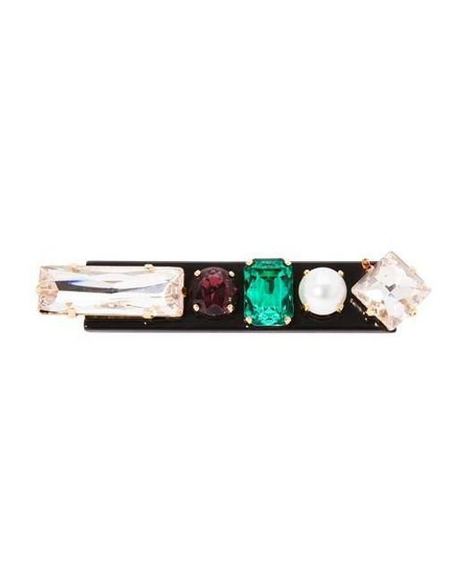 Erdem Multicolor Graphic Hair Pin