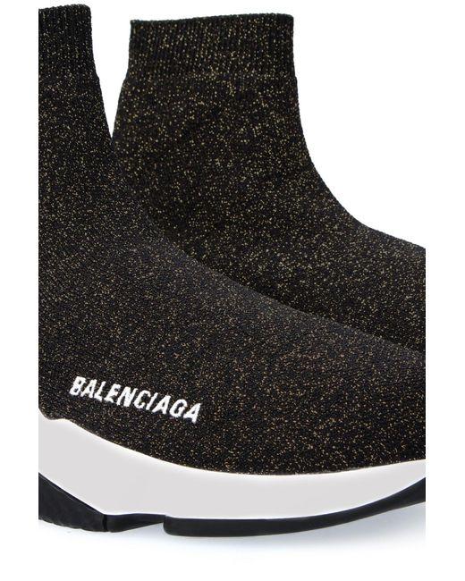 Balenciaga Black Race Runners