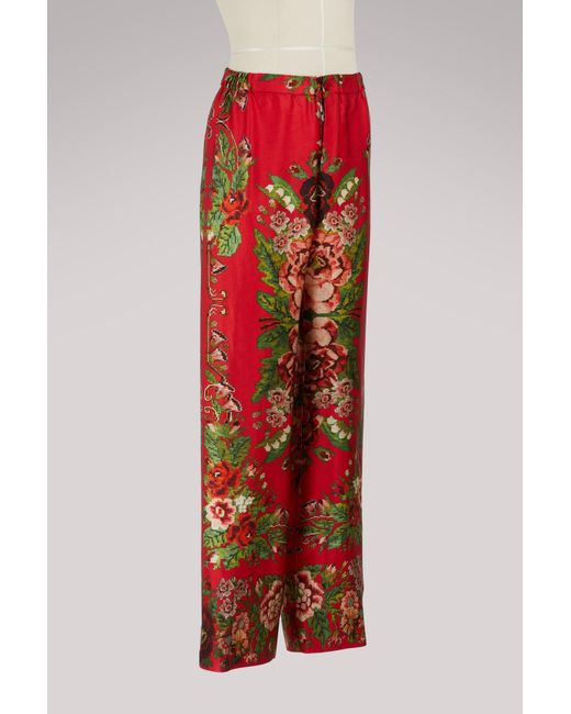 Etera silk trousers F.R.S. For Restless Sleepers pdiDp9PLZz