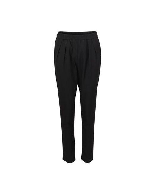 Maison Kitsuné Black Jena Pants