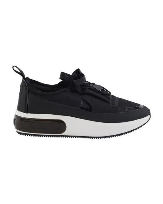 Nike Black Air Max Dia Winter Ripstop Sneakers