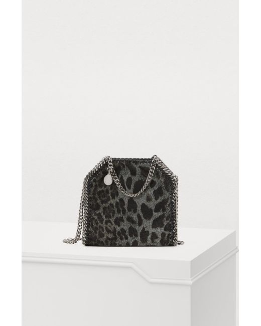 72d52266e0f9b Stella McCartney - Black Falabella Tiny Shoulder Bag - Lyst ...