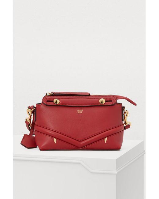 ef1a8e5f7672 Fendi - Red By The Way Crossbody Bag - Lyst ...