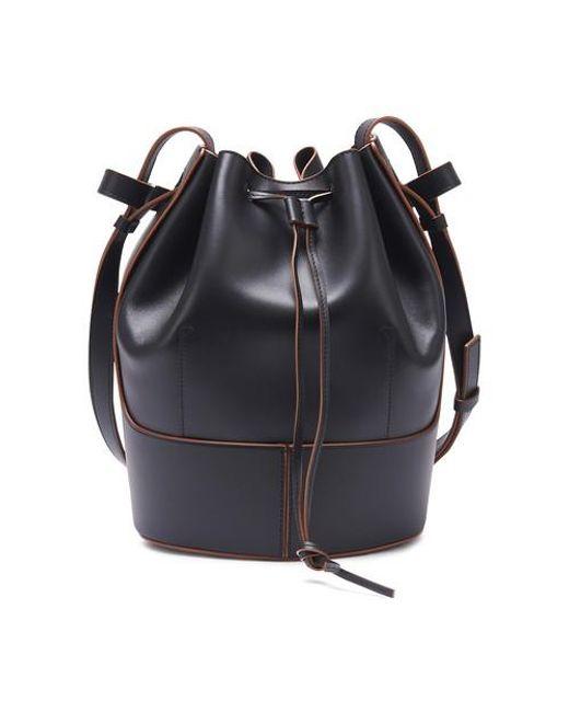 Loewe Black Balloon Bag