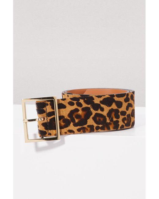 Maison Boinet - Multicolor Ceinture léopard - Lyst ... 4c7d4d40ff1