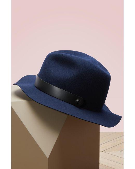 Rag & Bone | Blue Packable Abbott Fedora | Lyst